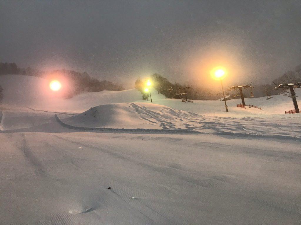 尾瀬戸倉スキー場キッズもオッケー