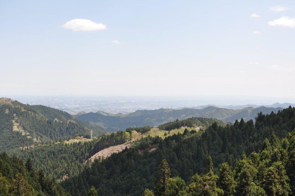 小仏城山からの絶景