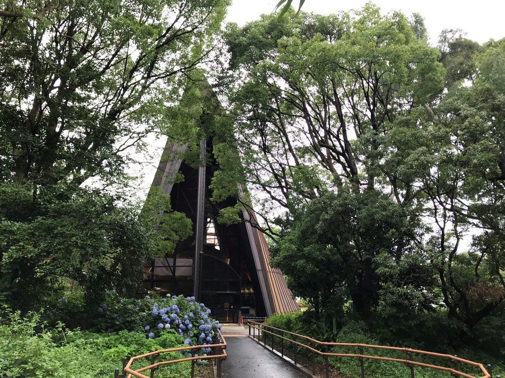 第五福竜丸展示館入口
