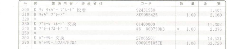 アウディA4バッテリー交換費用