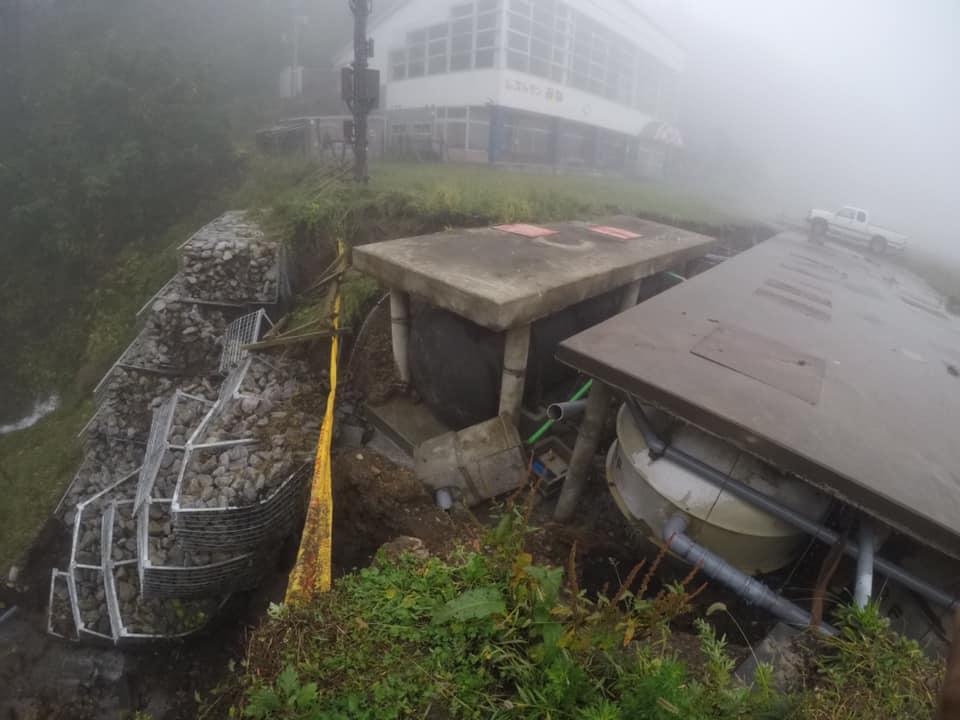 須坂台風19号の被害