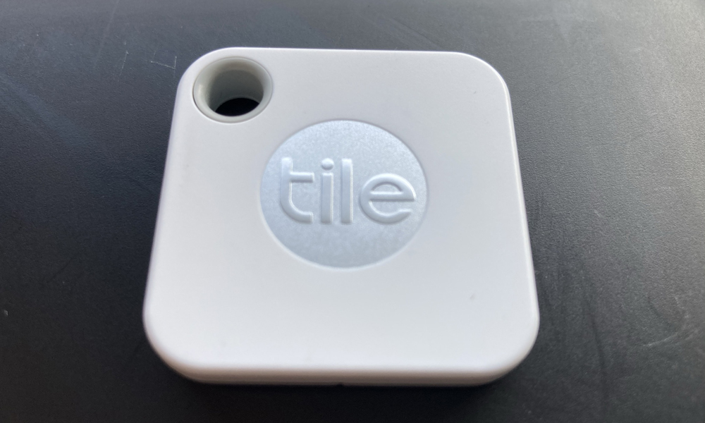 Tileタイルの表面ボタン