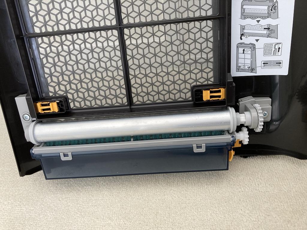 プレフィルター自動掃除空気清浄機KI-NX75